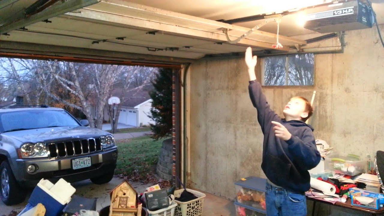 Old Garage Door Works Great   YouTube
