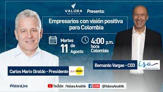 Empresarios con visión positiva para Colombia