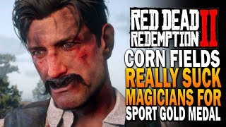 Bounty Hunters got Trelawny, Magicians For Sport Gold Medal - Red Dead Redemption 2
