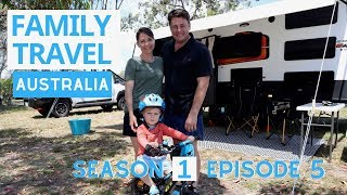 WHALE WATCHING IN HERVEY BAY | Exploring the Fraser Coast | Family Travel Australia Series | EP 5