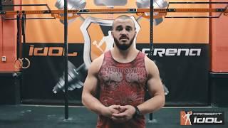Становая тяга. Как научиться с нуля, как укрепить спину. Strongman Силаков. Crossfit IDOL #25