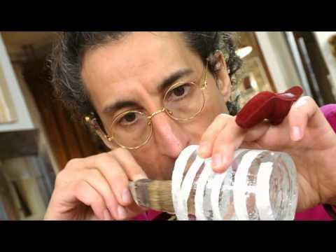 видео: Мастер класс от Марата Ка «Подсвечник из стаканов»