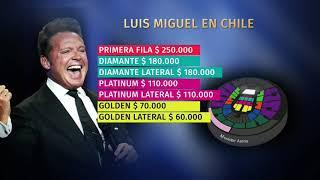 Luis Miguel confirmó regreso a Chile con dos conciertos en febrero