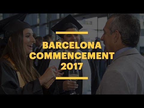 EU Business School Barcelona Commencement 2017