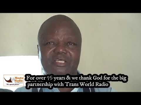 Christian Mission Aid receives Turkana Bibles from TWR- K