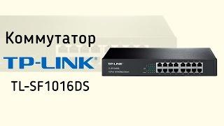 Коммутатор TP-LINK TL-SF1016DS - видео обзор
