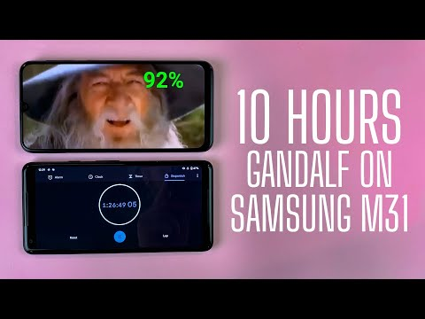 27 + HOURS GANDALF ON SAMSUNG GALAXY M31 2020