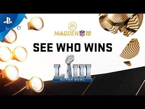 Madden NFL 19 - Super Bowl 53 Prediction: Rams Vs. Patriots | PS4
