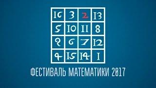 """""""Математика в лицах"""" — урок для школьников и всех желающих."""