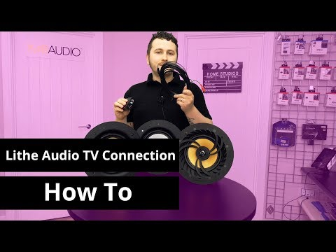 How To Connect Lithe Audio Speaker to TV / Other Source - TV Connection Guide