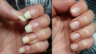 My Nail Care Routine | Cutting My Long Natural Nails