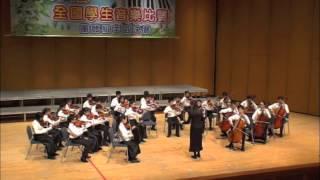 100學年度全國學生音樂比賽中區決賽弦樂合奏國小B組優等第一:惠文國小