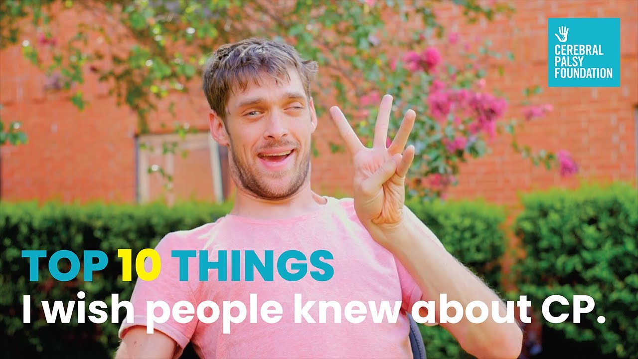 Zach Anner Top 10 Things I Wish People Knew About Cerebral Palsy YouTube