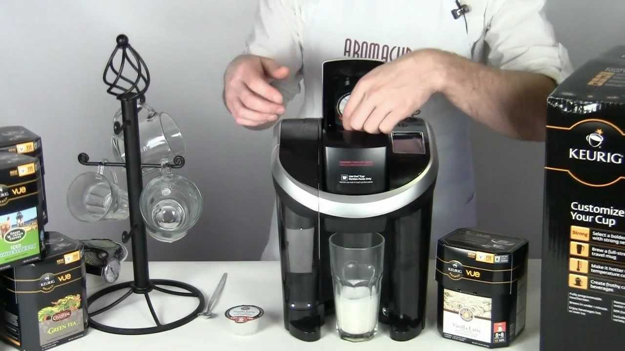 Keurig VUE quick and easy Latte - YouTube