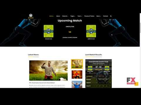RS Sports - Soccer And Football Club HTML Template        Sheldon Jer