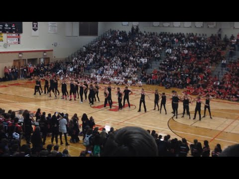 Huntley High School Homecoming Rally and Game 2014