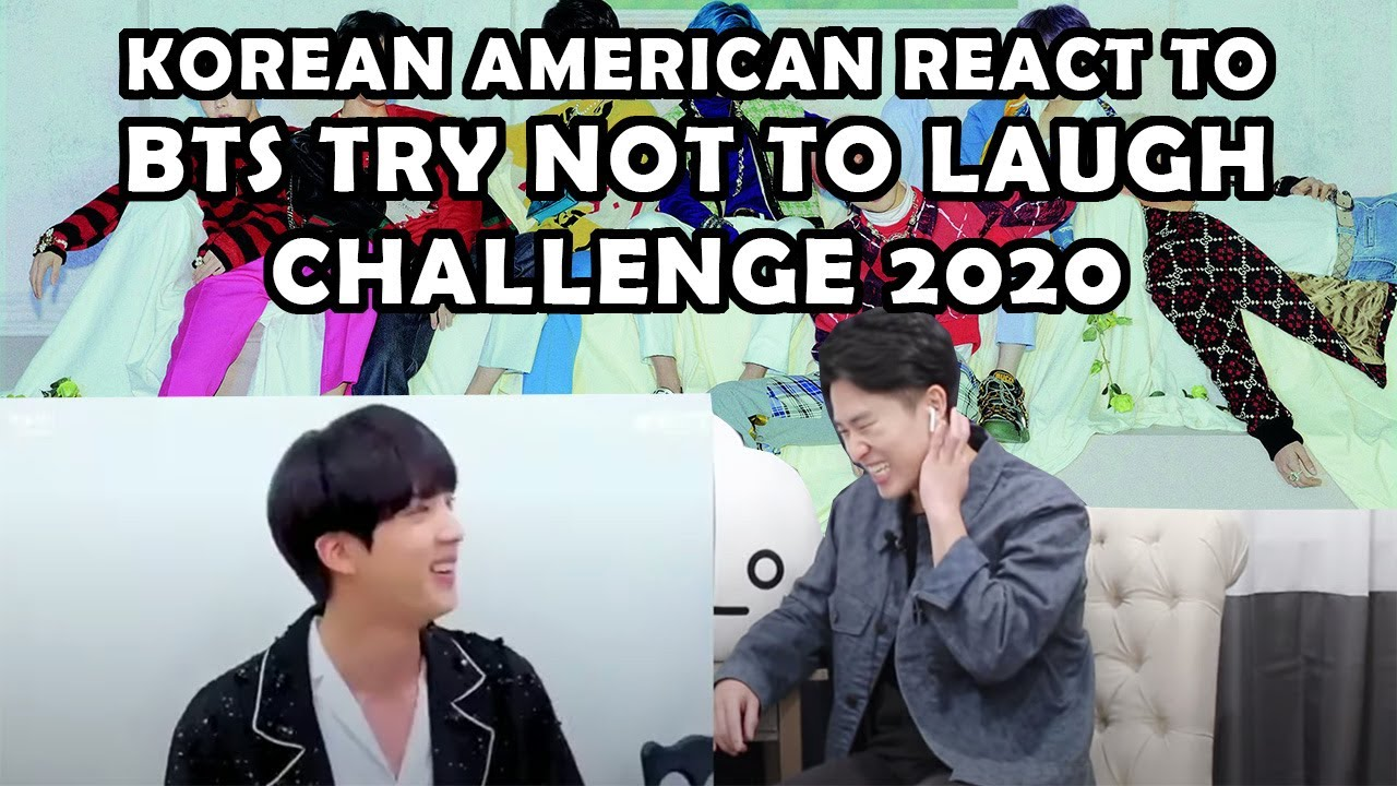 BTS TRY NOT TO LAUGH 2020 (KOREAN AMERICAN REACTION)