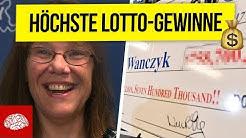 Die höchsten Lotto-Gewinne aller Zeiten