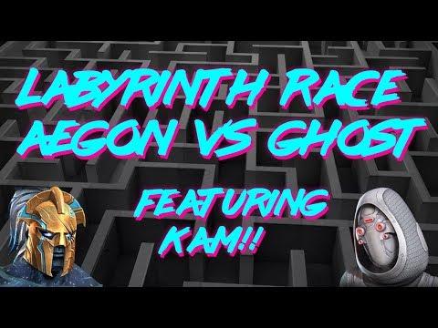???? LoL Race // Aegon Vs Ghost! // ft. Kam