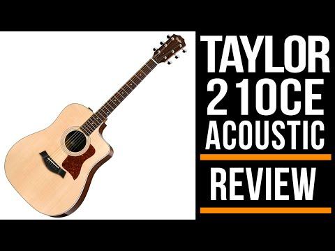 Taylor 210ce Acoustic Guitar | Review