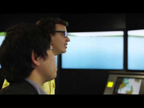 Maritime - Simulator - Brad at The Northern Sydney Institute