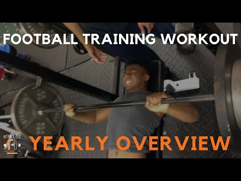 Football Strength Training : Strength & Conditioning Yearly Plan l AthleticPreparation.com