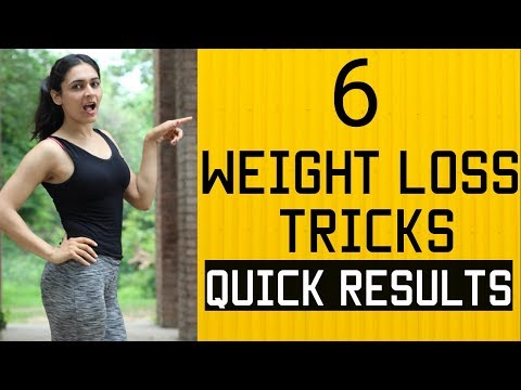WEIGHT LOSS WITHOUT EXERCISE : 6 Tricks for Fat Loss (QUICK RESULTS)