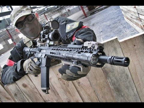Airsoft War Games CQB Action in Glasgow 2014 HD