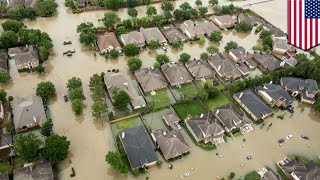 Hurricane Harvey floods: How will all that water drain out of Houston? - TomoNews