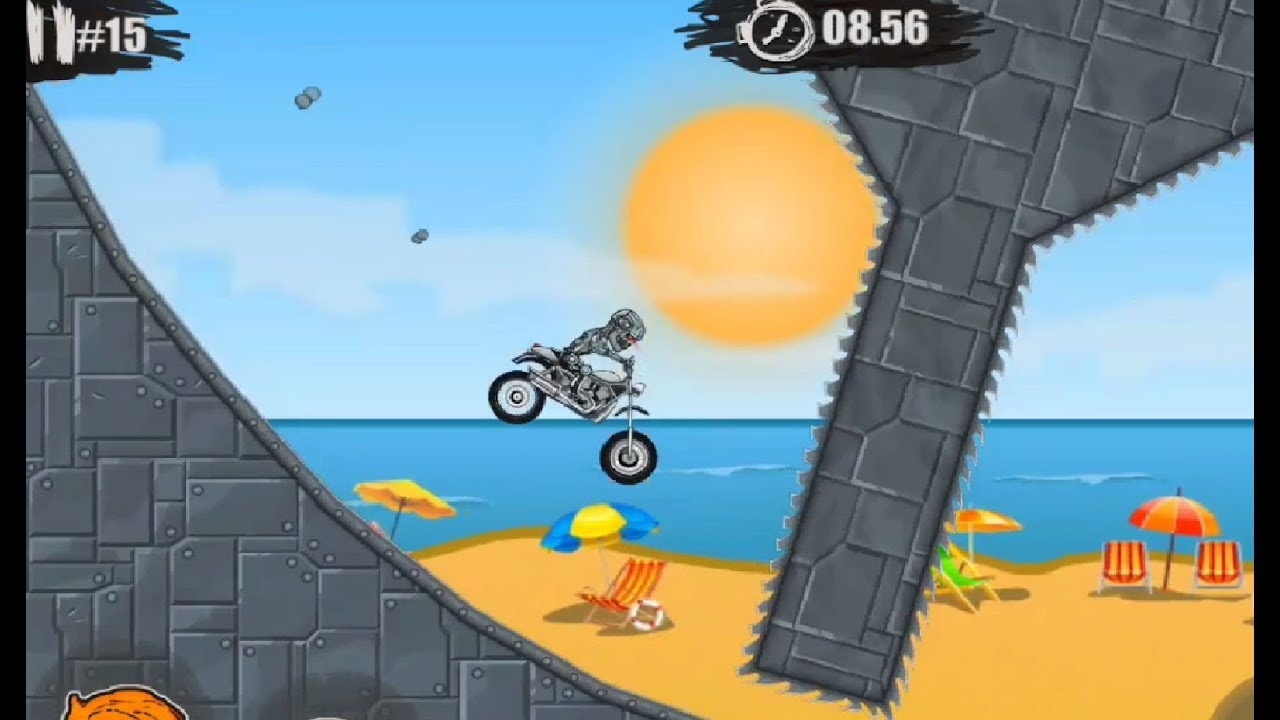 ► Moto X3M Bike Race Game Android Gameplay Walkthrough Episode 2 By games  hole