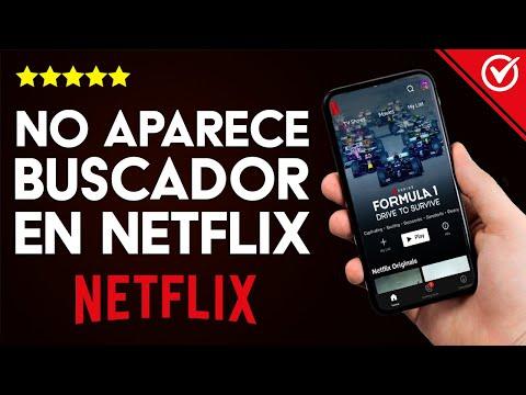 Buscador de Netflix No Aparece o No Funciona ¿Qué Hago?