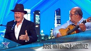 Este AGRICULTOR de 71 años demuestra ser una ESTRELLA | Audiciones 1 | Got Talent España 5 (2019)