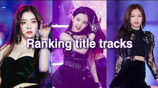 Download Ranking the big 3 girlgroups title tracks ♡