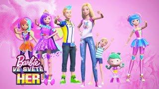 Tanči a užij si spoustu zábavy! | Barbie Hrdinka Videohry | Barbie