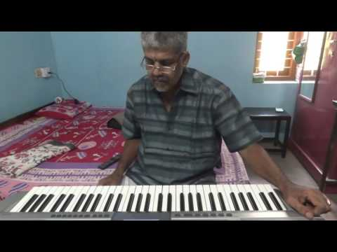 raksha raksha jaganmatha, devotional song on keyboard