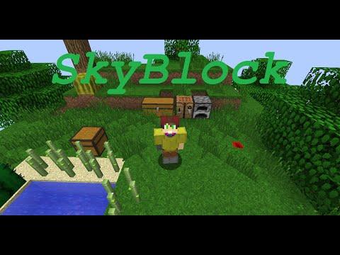 Minecraft - SkyBlock EP:2 - Cocoa Bean Farm And Money Loss