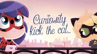 MIRACULOUS CHIBI - CURIOSITY KICKED THE CAT