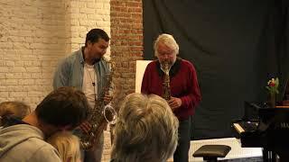 Cantaloupe Island au saxophone, par Michel et Claudio