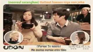 [SUB ESP] Dongwoon [BEAST] & Minkyung [DAVINCI] - Udon [MV]