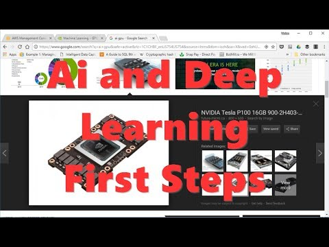 Ai and Deep Learning First Steps
