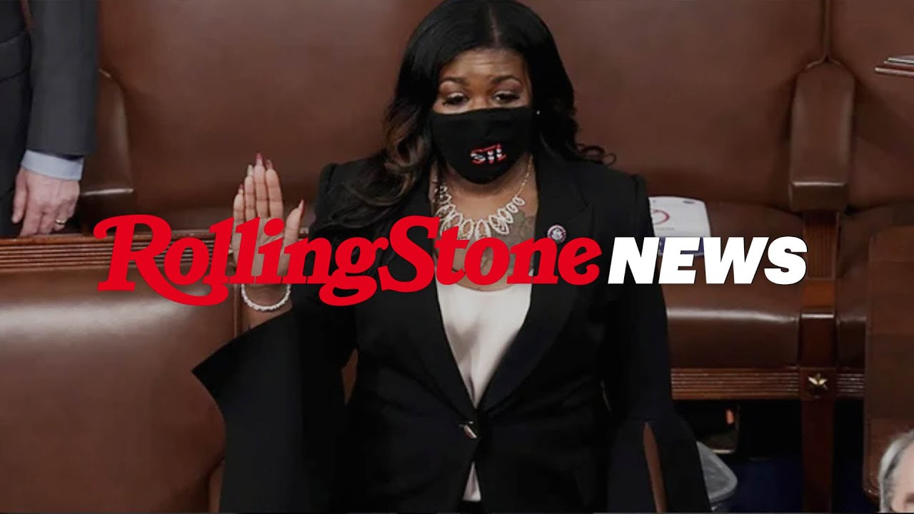Cori Bush Denounces White Supremacy. GOP Representatives Boo | RS News 1/14/21