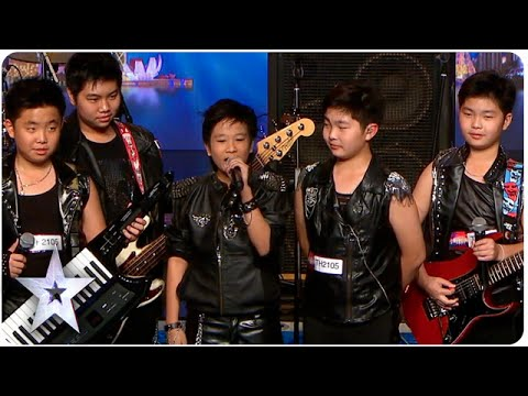 Young Rockers 'The Talento' Bring The Noise | Asia's Got Talent 2015 Ep 2