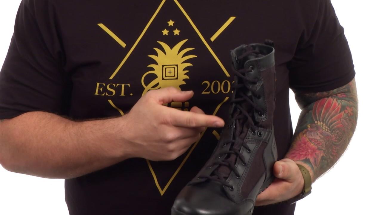 ecb078d0e75 5.11 Tactical Skyweight Side Zip Boot SKU:8851782