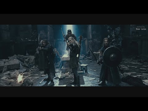 The Lord of the Rings (2001) - Moria,  Part 1 [4K - Upscaled, duh + slightly edited]