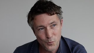 Aidan Gillen interview 'Beneath the Harvest Sky', Game of Thrones (TIFF 2013)