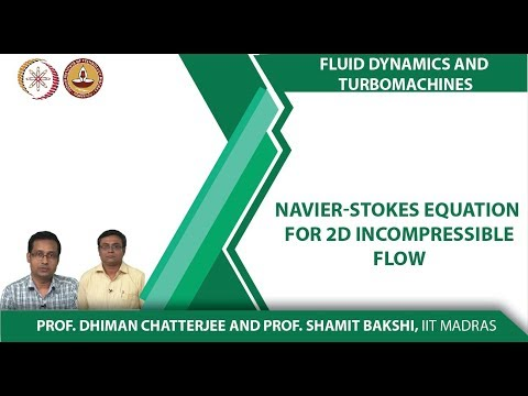 Week3Lec02 Navier Stokes equation for 2D incompressible flow