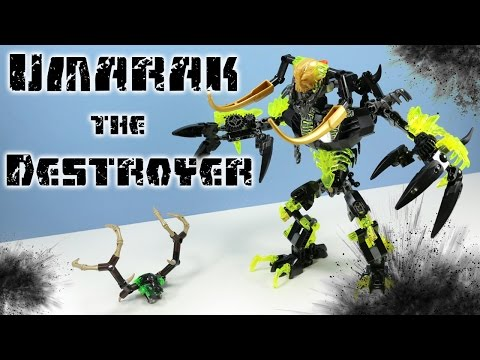 LEGO Bionicle Umarak the Destroyer Set 71316 Speed Build Review