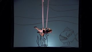 America's Got Talent S09E02 Aerial Animation Abigail Baird Innovative Aerial Act