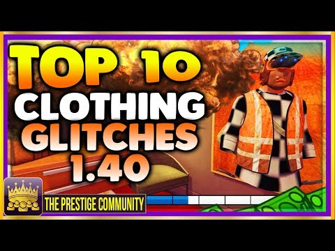 GTA 5 Online TOP 10 CLOTHING GLITCHES 1.40! NEW BEST 10 GUNRUNNING Outfit Glitches! Top 10 Glitches