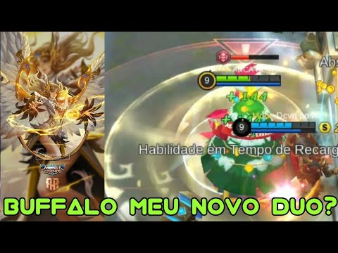 CAI COM O BUFFALO NA RANKED E OLHA NO QUE DEU! ALICE GAMEPLAY!